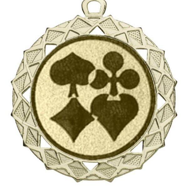 Poker Medaille