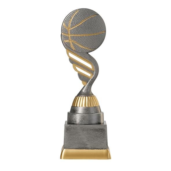 Basketball pokal gold