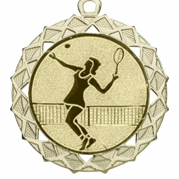 Tennis medaille damen