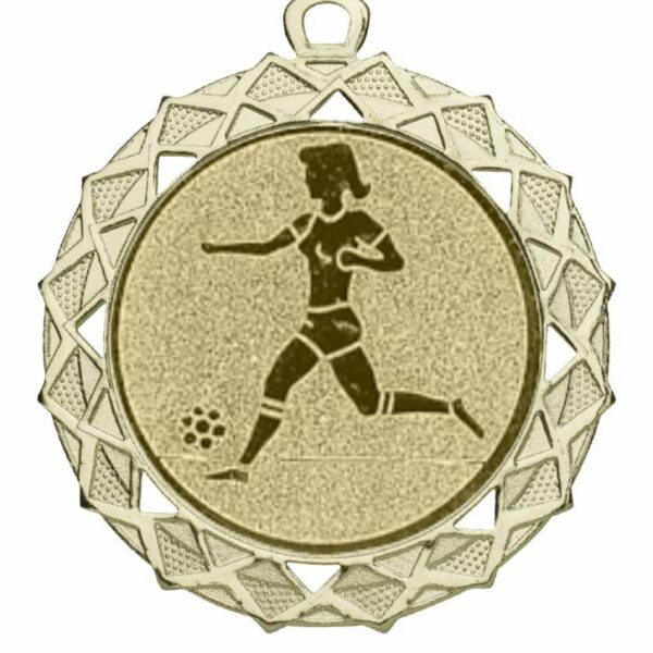 Fußball Medaille damen
