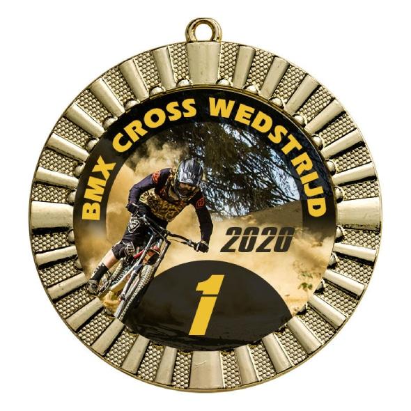 Medaille mit Logo