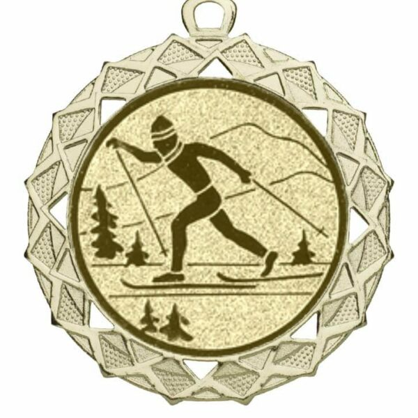 Medaille skilanglauf
