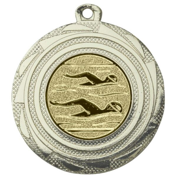 schwimm medaille